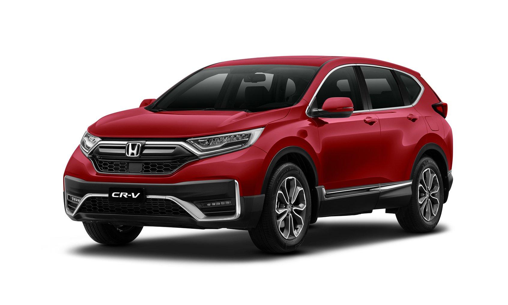 Mẫu xe SUV bán chạy nhất Honda CR-V có thêm phiên bản màu đỏ