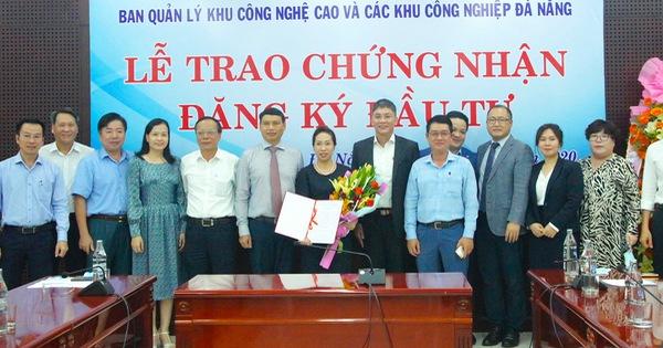 600 tỷ đồng đầu tư vào dự án Xây dựng nhà xưởng cho thuê trong Khu công nghệ cao Đà Nẵng