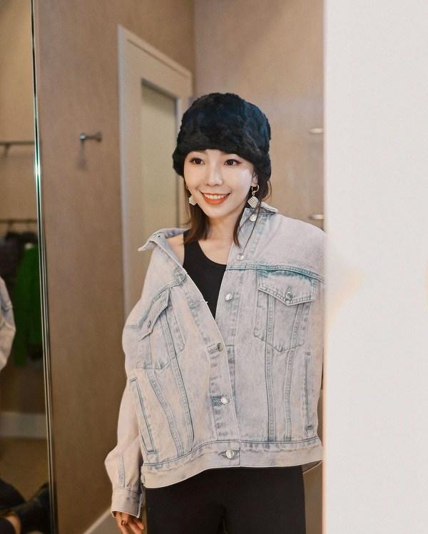 Kiểu áo khoác cá tính được dàn mỹ nhân Việt ưu ái, diện vào mùa thu là chuẩn xinh-12