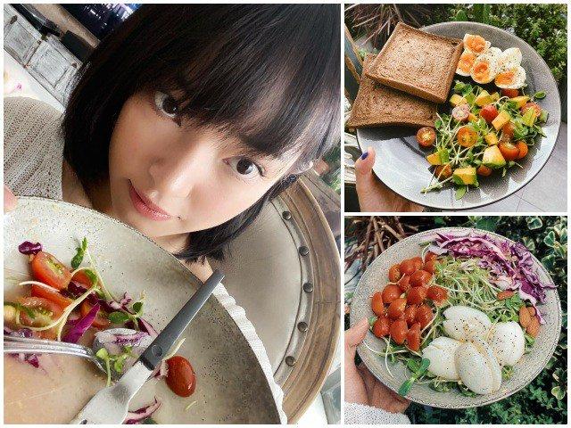 Nghiện salad, cắt bỏ thịt: cách giảm cân an toàn để Châu Bùi xuống liền 3kg chỉ sau 9 ngày-3