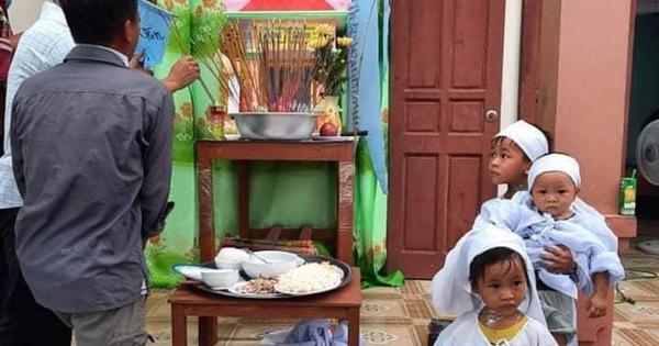 Vụ chồng ghen tuông hoang tưởng đâm chết vợ ở Nghệ An: Xót xa 3 đứa con thơ bơ vơ khát sữa, gào khóc đòi mẹ