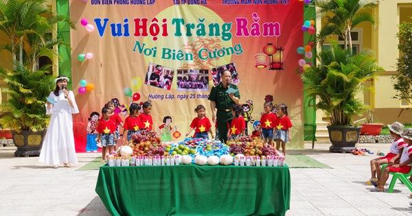 Mang Tết Trung thu đến với trẻ em vùng cao Quảng Trị