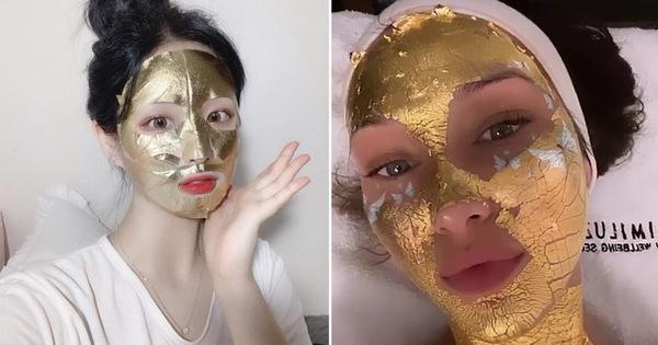 Sự thật về những chiếc mặt nạ vàng 24K đang được chị em săn lùng: Công dụng có thực sự