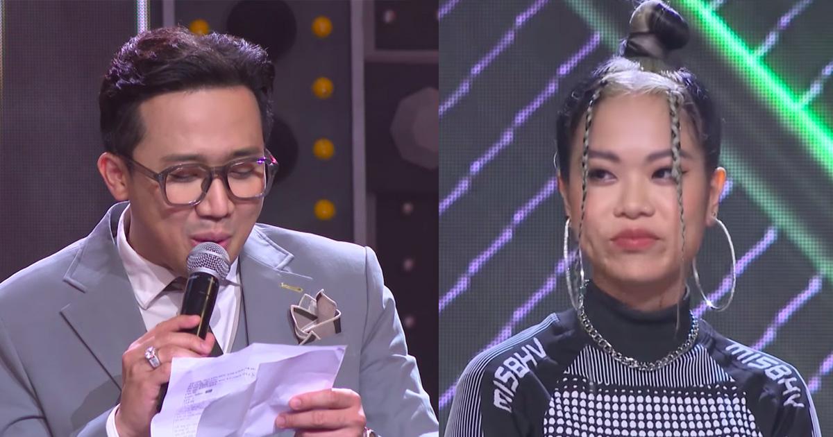 MC Trấn Thành bị chỉ trích thiếu chuyên nghiệp, thiên vị khi chỉ chăm chú vào Tlinh, Tage-1