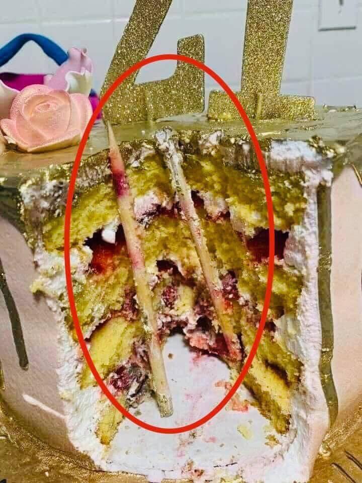Bức ảnh khiến nhiều người giật mình sợ hãi nghĩ lại trò úp bánh kem vào mặt, mối nguy hiểm quả thật rất khôn lường-2