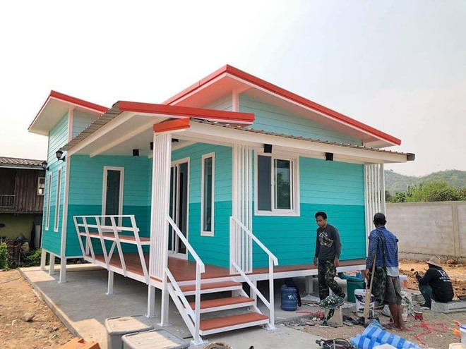 Những căn nhà có chi phí xây dựng chỉ từ 50 triệu đồng vẫn đẹp long lanh-3