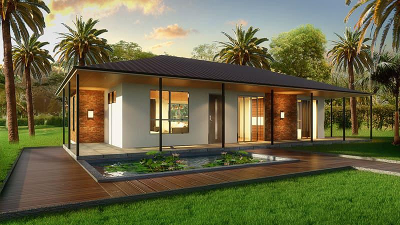 Những căn nhà có chi phí xây dựng chỉ từ 50 triệu đồng vẫn đẹp long lanh-1