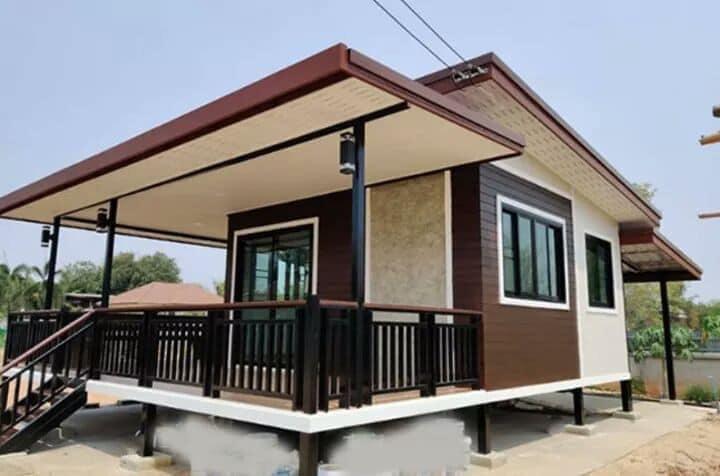 Những căn nhà có chi phí xây dựng chỉ từ 50 triệu đồng vẫn đẹp long lanh-2