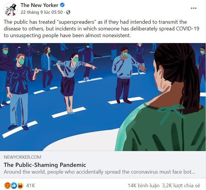 Dân mạng nên ngừng chửi bới nhà báo Mỹ viết bài về bệnh nhân thứ 17-4