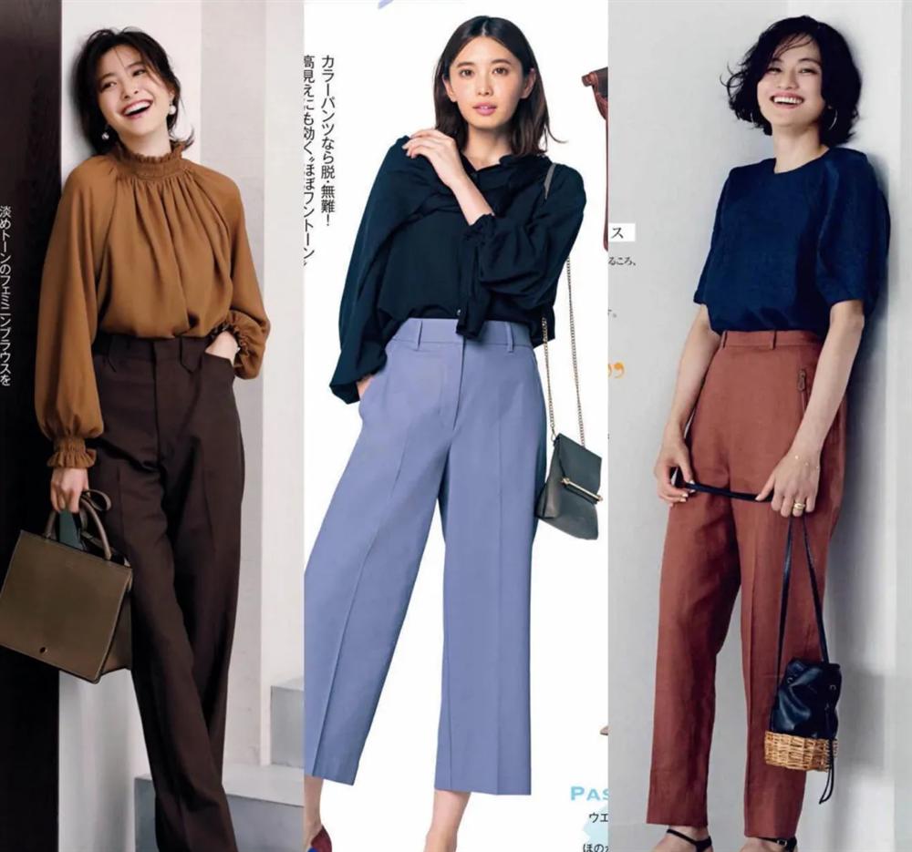 4 công thức diện đồ Thu hack dáng thon gọn, cao ráo mà nàng công sở Việt tuổi 30+ có thể học lỏm từ style của phụ nữ Nhật-1