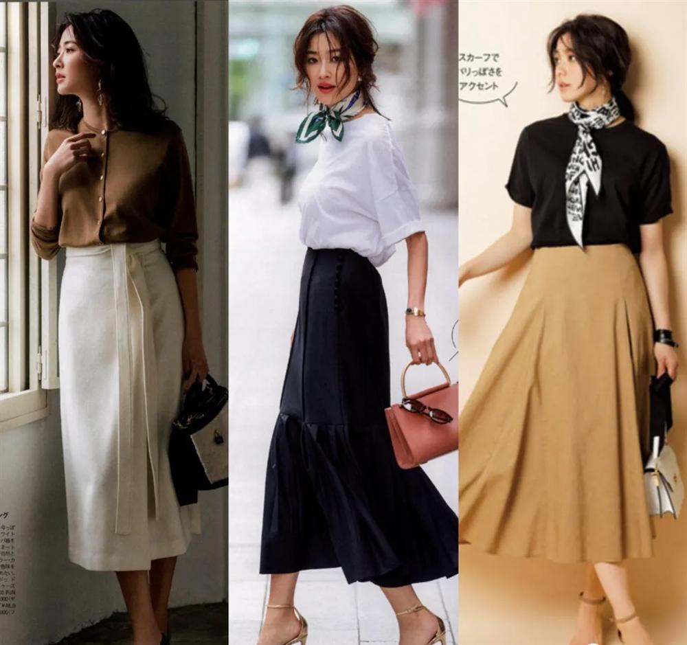 4 công thức diện đồ Thu hack dáng thon gọn, cao ráo mà nàng công sở Việt tuổi 30+ có thể học lỏm từ style của phụ nữ Nhật-4