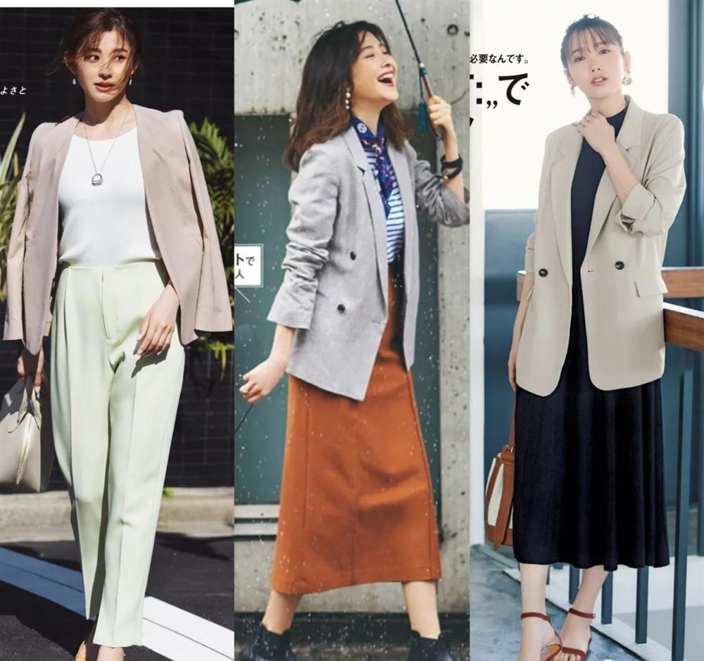 4 công thức diện đồ Thu hack dáng thon gọn, cao ráo mà nàng công sở Việt tuổi 30+ có thể học lỏm từ style của phụ nữ Nhật-5