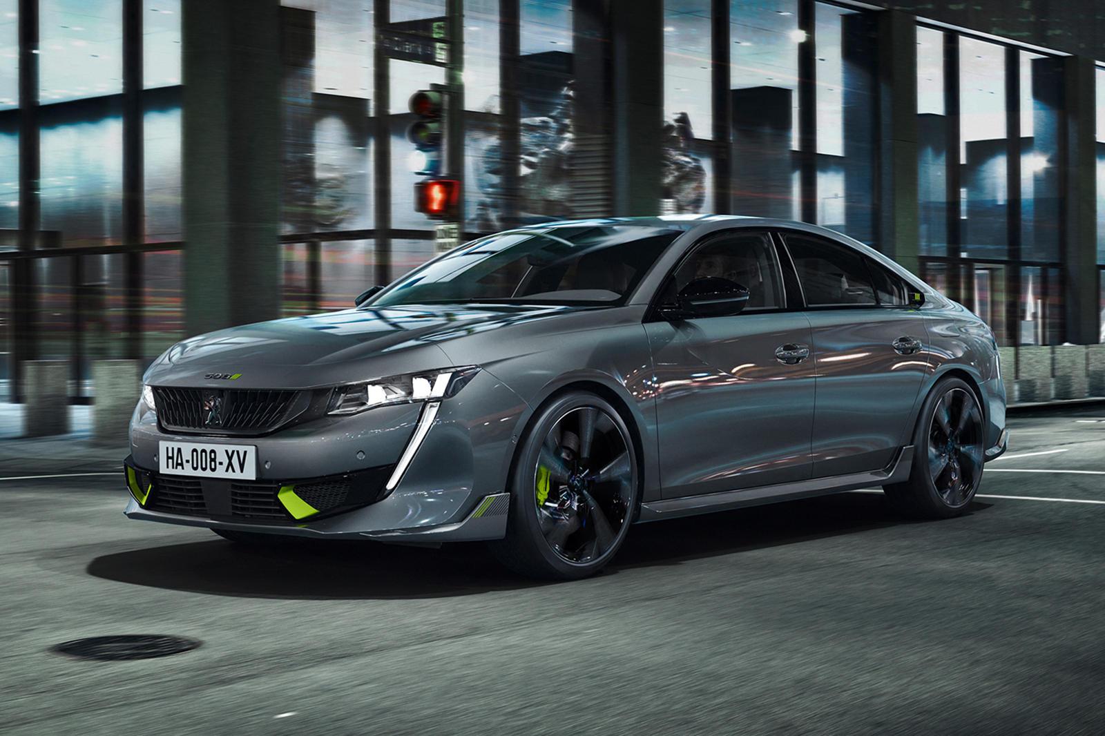 Đây là mẫu xe mạnh nhất từ trước tới nay của hãng xe Peugeot