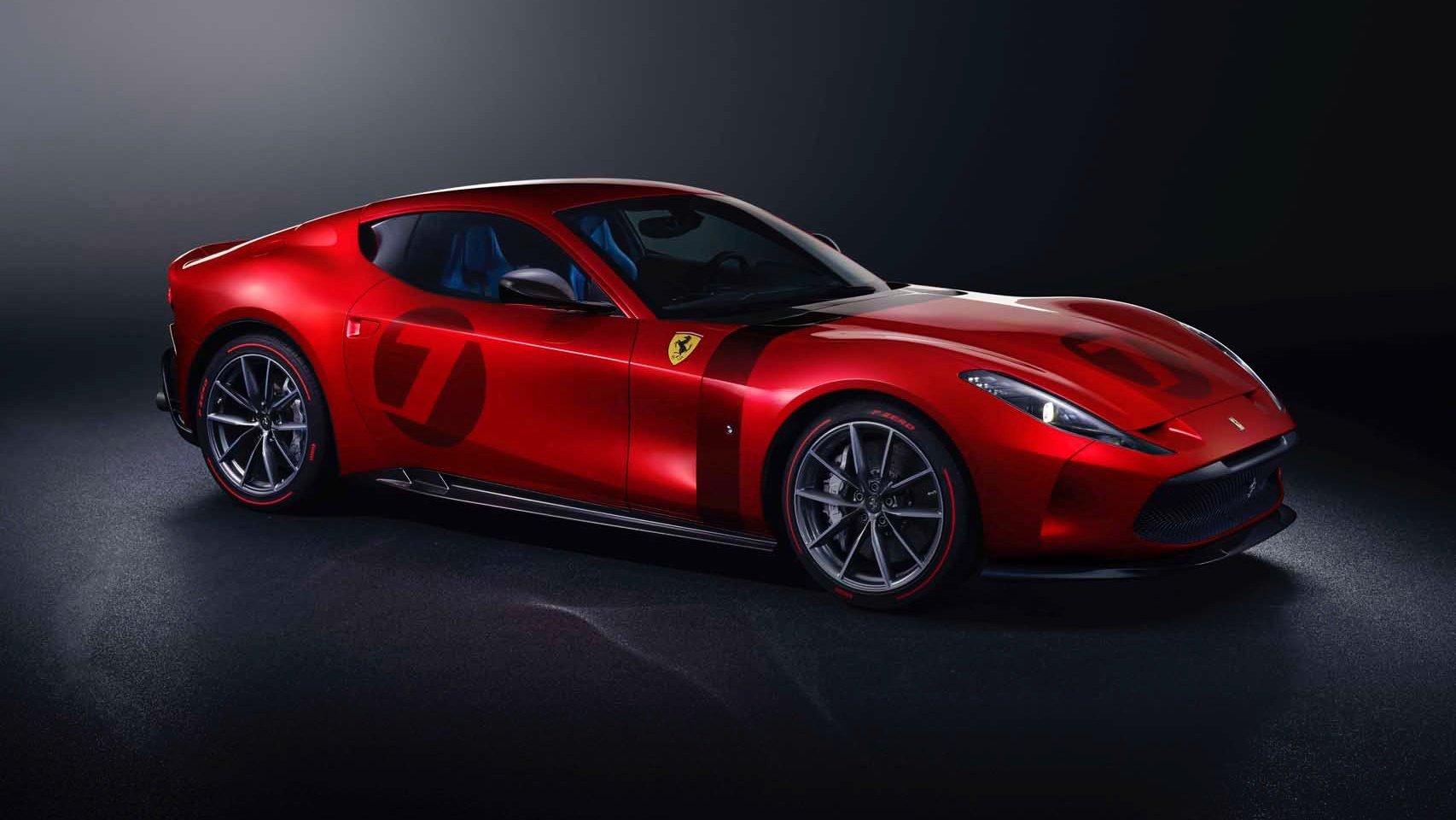 Ferrari trình làng siêu phẩm chỉ có 1 chiếc duy nhất trên thế giới, sử dụng động cơ V12
