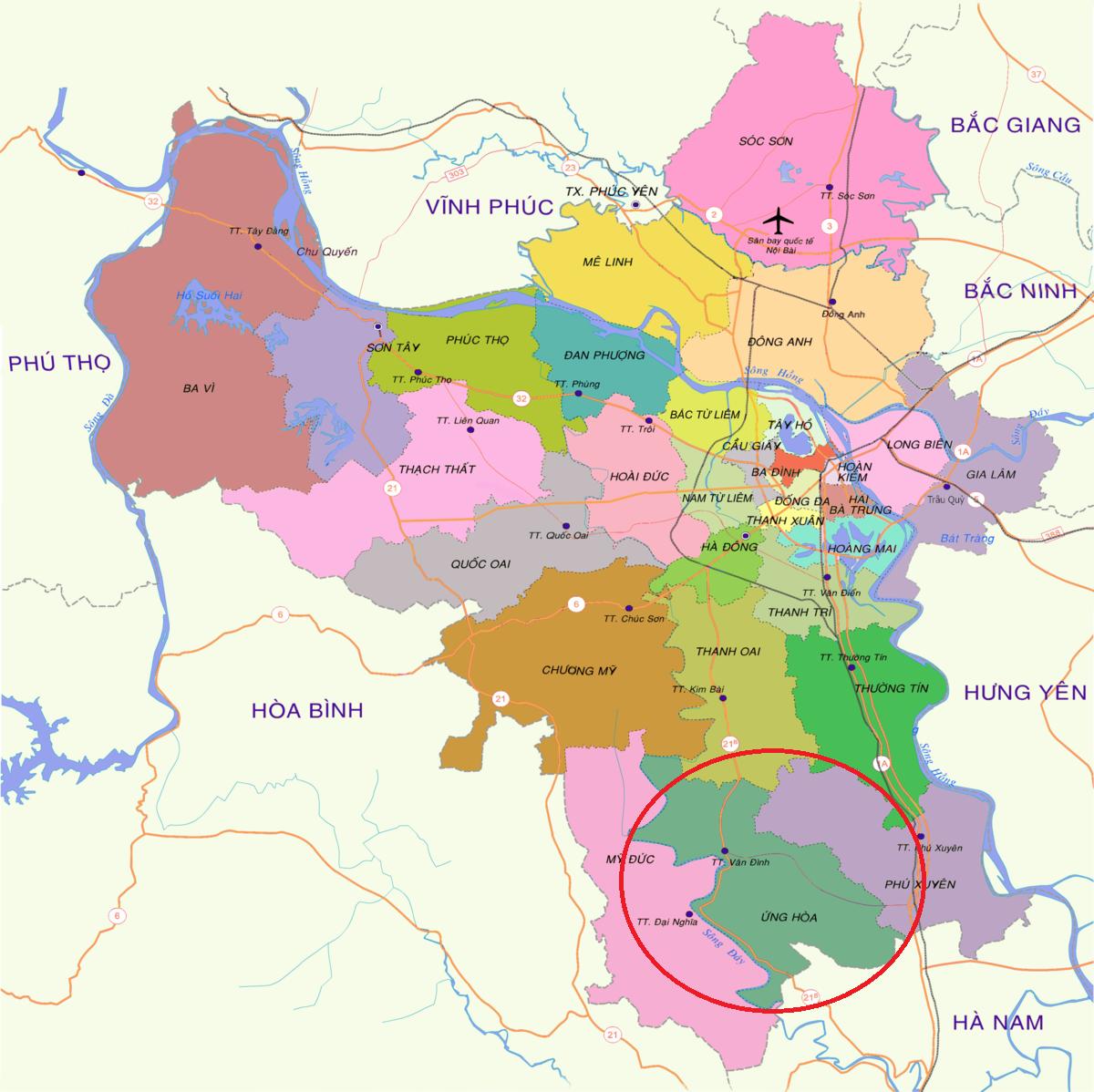Đề xuất nghiên cứu quy hoạch xây dựng sân bay quốc tế thứ 2 cho Vùng Thủ đô Hà Nội tại Ứng Hòa-1