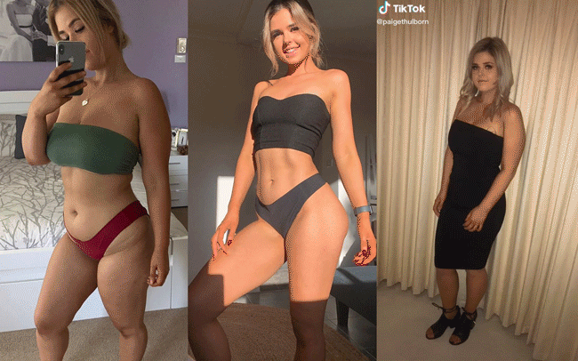 Cô gái người Úc khoe body hậu giảm cân đầy ngoạn mục trên TikTok: giảm 25kg mà không cần từ bỏ đồ ăn vặt