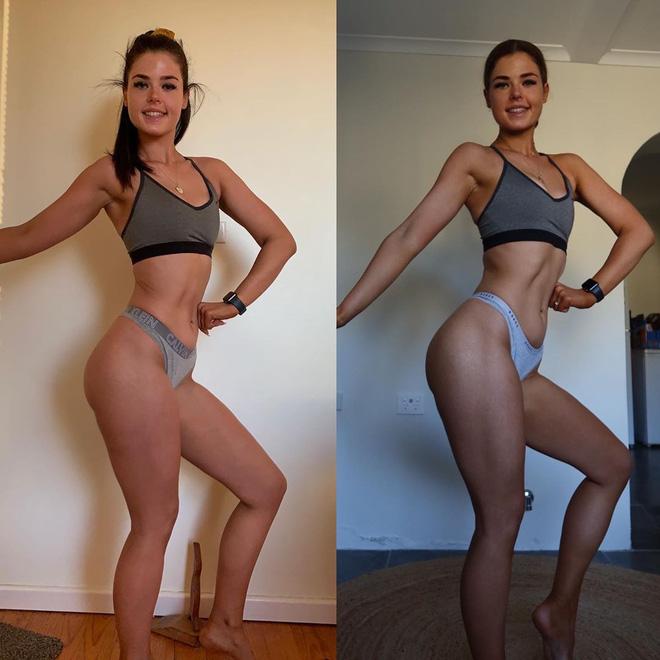 Cô gái người Úc khoe body hậu giảm cân đầy ngoạn mục trên TikTok: giảm 25kg mà không cần từ bỏ đồ ăn vặt-10