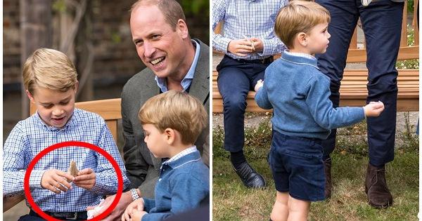 Hoàng tử George lần đầu tiên bị