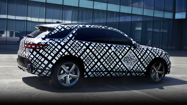 Genesis hé lộ mẫu SUV thứ 2: Đe dọa BMW X3 và Mercedes-Benz GLC-3