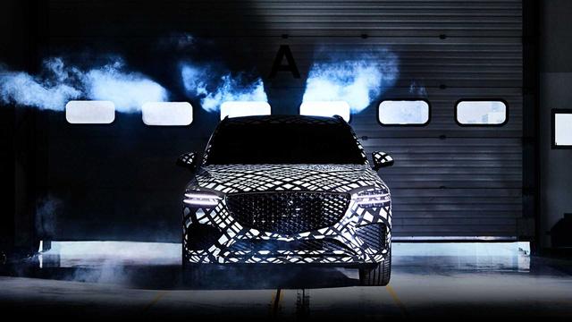 Genesis hé lộ mẫu SUV thứ 2: Đe dọa BMW X3 và Mercedes-Benz GLC-2