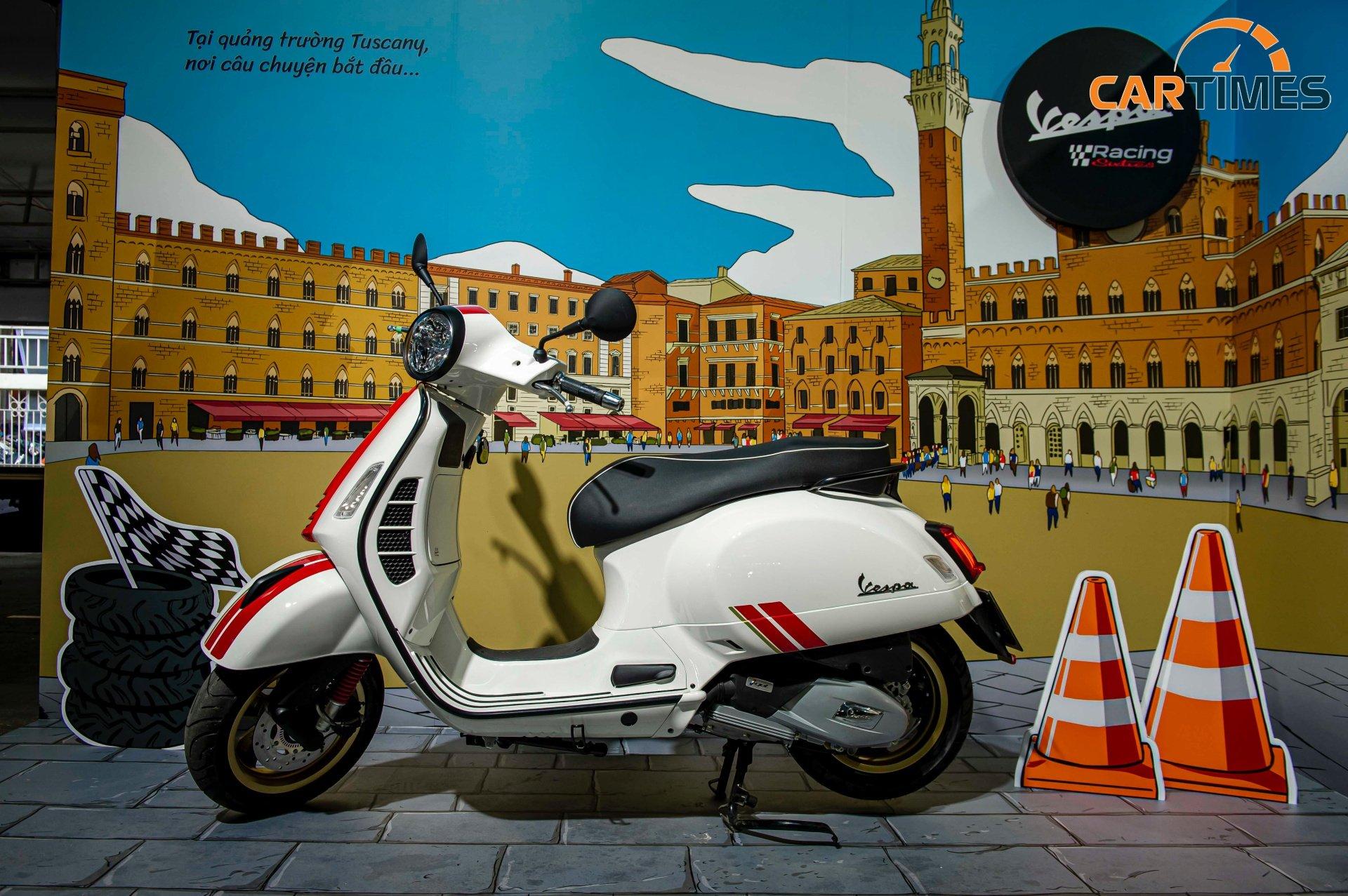 Vespa Racing Sixties phong cách xe đua ra mắt thị trường Việt Nam, giá từ 95 triệu đồng -3