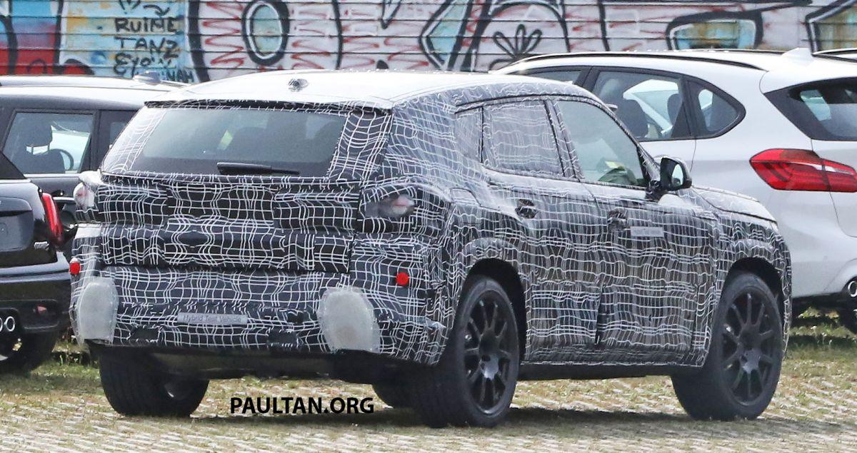 Mẫu xe SUV sang trọng nhất của BMW bị bắt gặp trên đường thử -2
