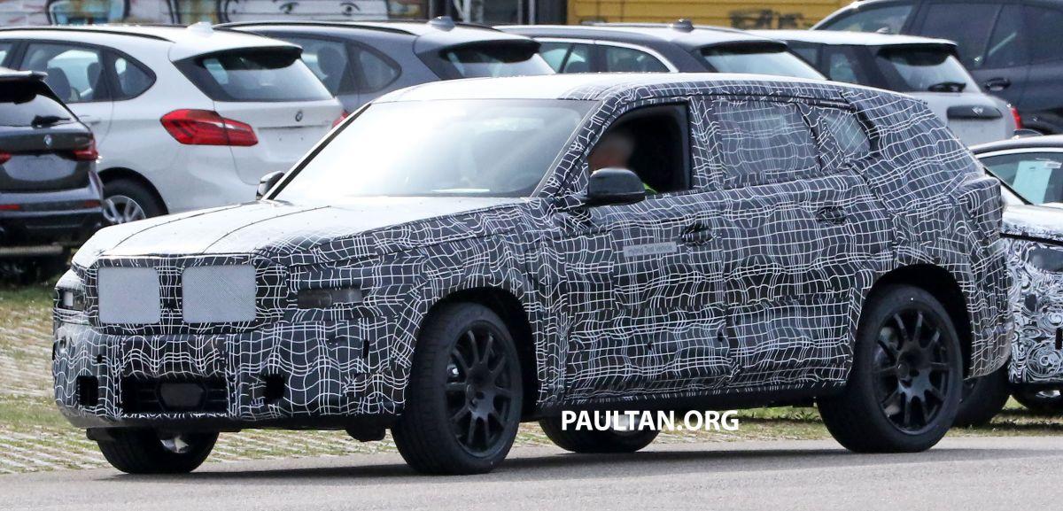 Mẫu xe SUV sang trọng nhất của BMW bị bắt gặp trên đường thử -1