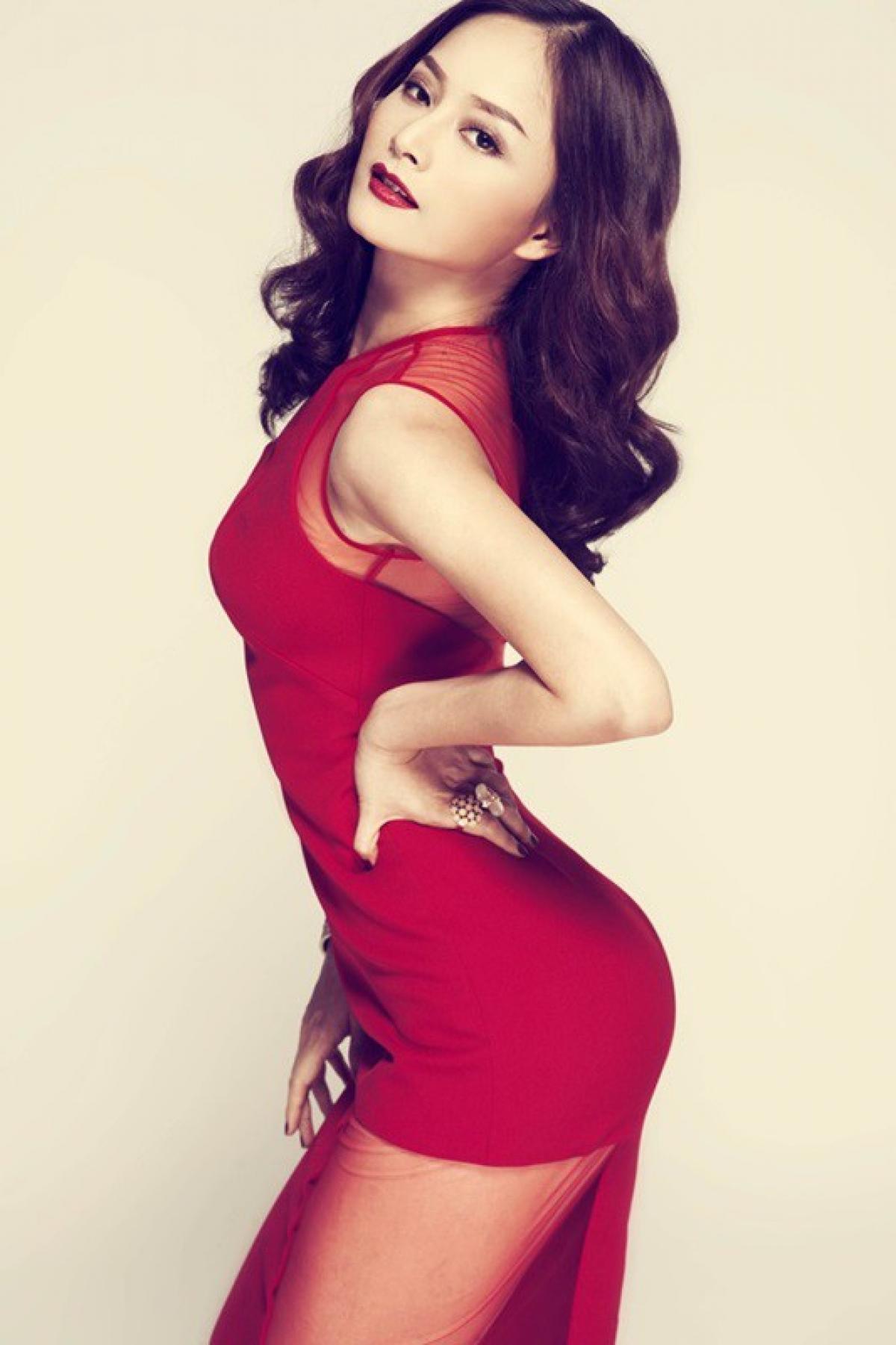 Từng tăng 18kg khi mang bầu, Lan Phương về dáng thần tốc sau sinh, tự tin đọ sắc hoa hậu-9