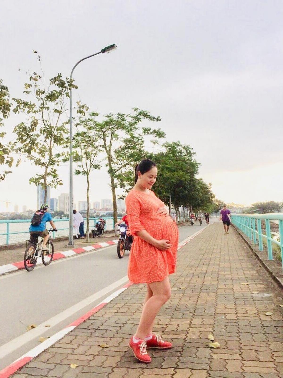 Từng tăng 18kg khi mang bầu, Lan Phương về dáng thần tốc sau sinh, tự tin đọ sắc hoa hậu-3