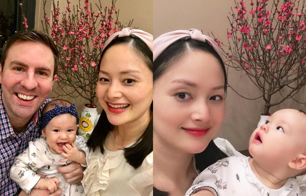 Từng tăng 18kg khi mang bầu, Lan Phương về dáng thần tốc sau sinh, tự tin đọ sắc hoa hậu-16