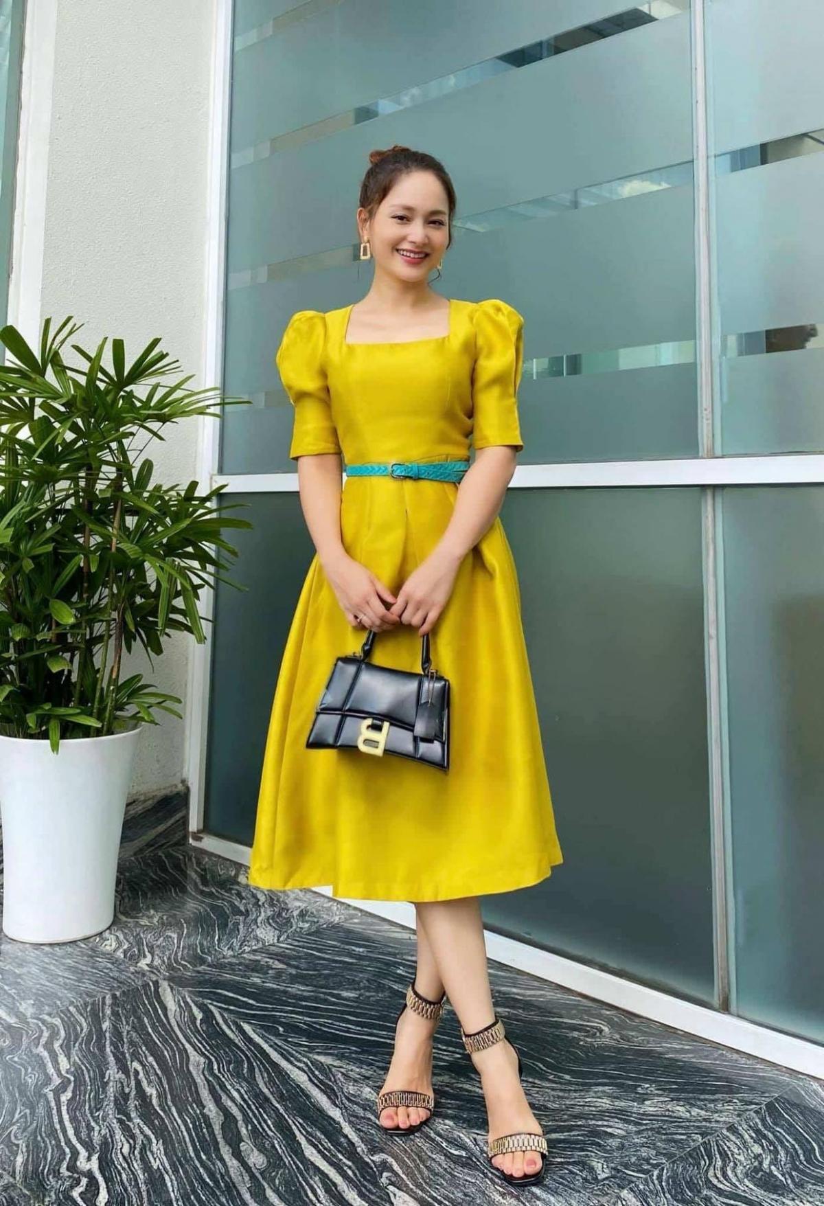Từng tăng 18kg khi mang bầu, Lan Phương về dáng thần tốc sau sinh, tự tin đọ sắc hoa hậu-13