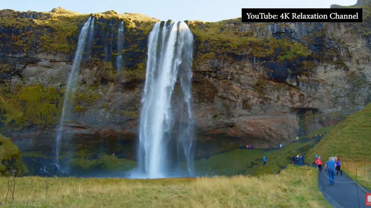 Chiêm ngưỡng thác nước đẹp như tiên cảnh nhưng cấm du khách đến vào mùa đông ở Iceland