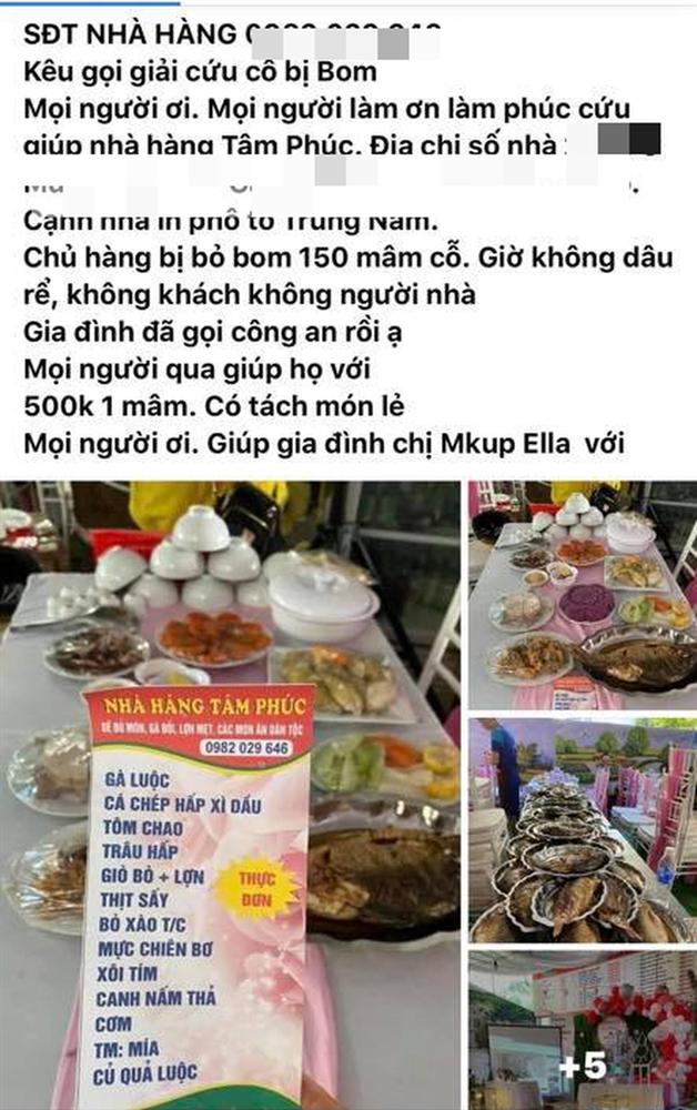 Một nhà hàng ở Điện Biên bị khách quen bom 150 mâm cỗ cưới trị giá gần 200 triệu, dân mạng kêu gọi giải cứu 500 nghìn/mâm-1