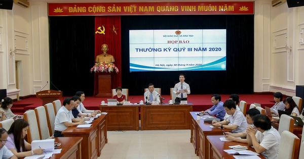 Bộ Giáo dục và Đào tạo: Sớm công bố công bố phương án thi và tuyển sinh giai đoạn 2021-2025