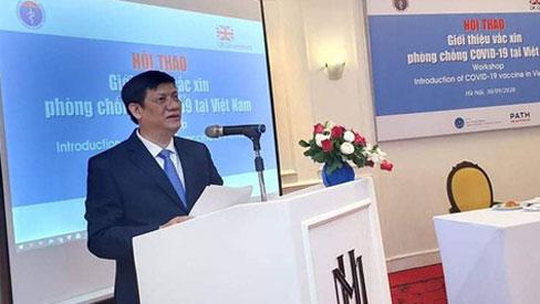 Dự kiến năm 2021, Việt Nam thử nghiệm vắc xin Covid-19 trên người