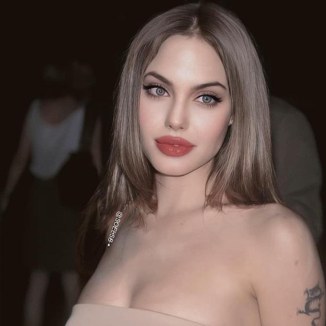 Dân tình đang náo loạn vì bộ ảnh Angelina Jolie ở thời kỳ đẹp nhất: Đẹp ngộp thở thế này bảo sao Brad Pitt mê, nhưng có gì đó sai sai-1