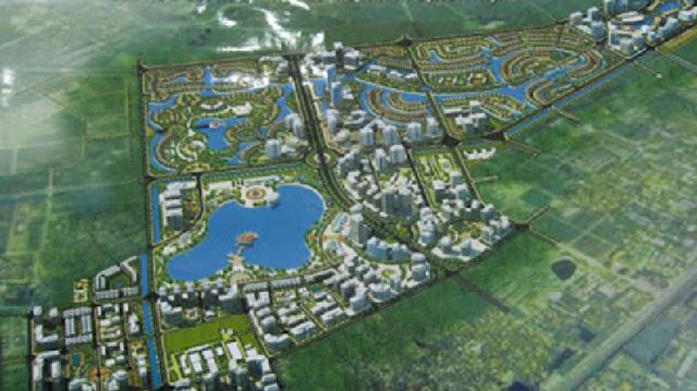 Dự án căn hộ tại Long Biên sở hữu hệ thống suối và thác nước liên hoàn hàng trăm mét-1