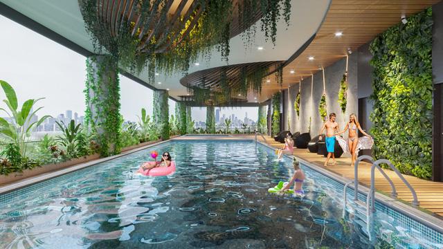 Dự án căn hộ tại Long Biên sở hữu hệ thống suối và thác nước liên hoàn hàng trăm mét-11