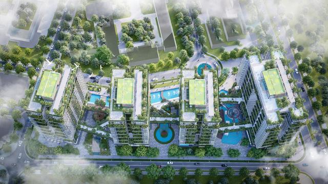 Dự án căn hộ tại Long Biên sở hữu hệ thống suối và thác nước liên hoàn hàng trăm mét-6