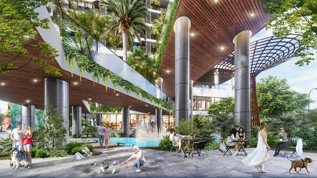 Dự án căn hộ tại Long Biên sở hữu hệ thống suối và thác nước liên hoàn hàng trăm mét-7