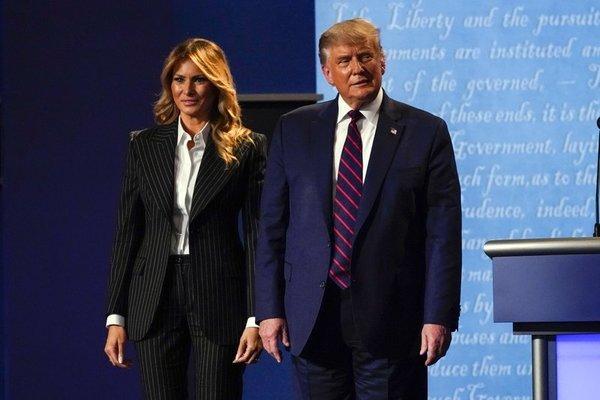 Tổng thống Trump và vợ dương tính Covid-19-1