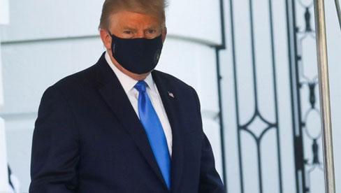 Tổng thống Trump nhập viện