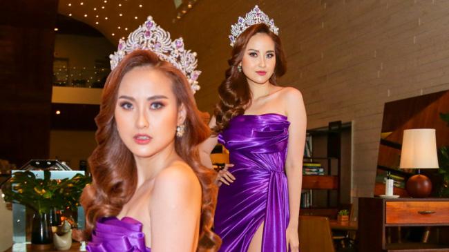 Hoa hậu Khánh Ngân nói gì về tin đồn bí mật sinh con cho đại gia