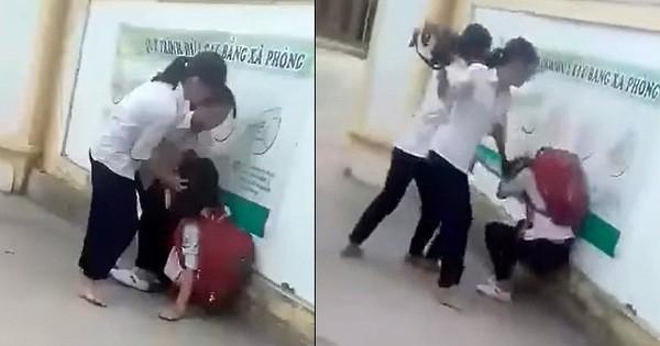 Nghệ An: Xác minh việc một nữ sinh bị nhóm bạn cùng lớp đánh hội đồng
