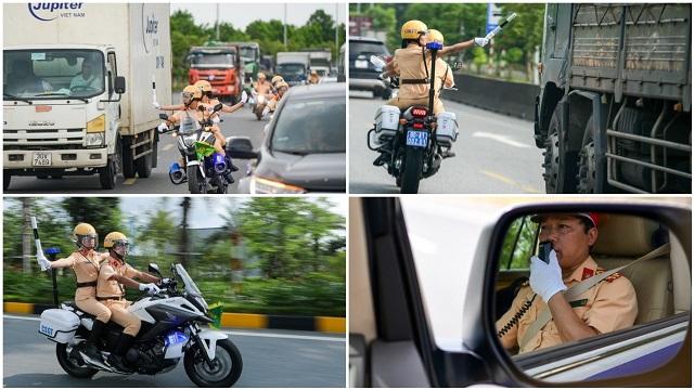 Một nhiệm vụ 'thầm lặng' ít người biết của các chiến sĩ cảnh sát giao thông