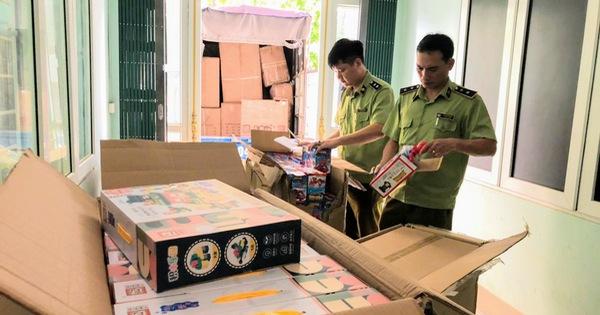 Phát hiện, xử lý trên 700 sản phẩm đồ chơi trẻ em nhập lậu