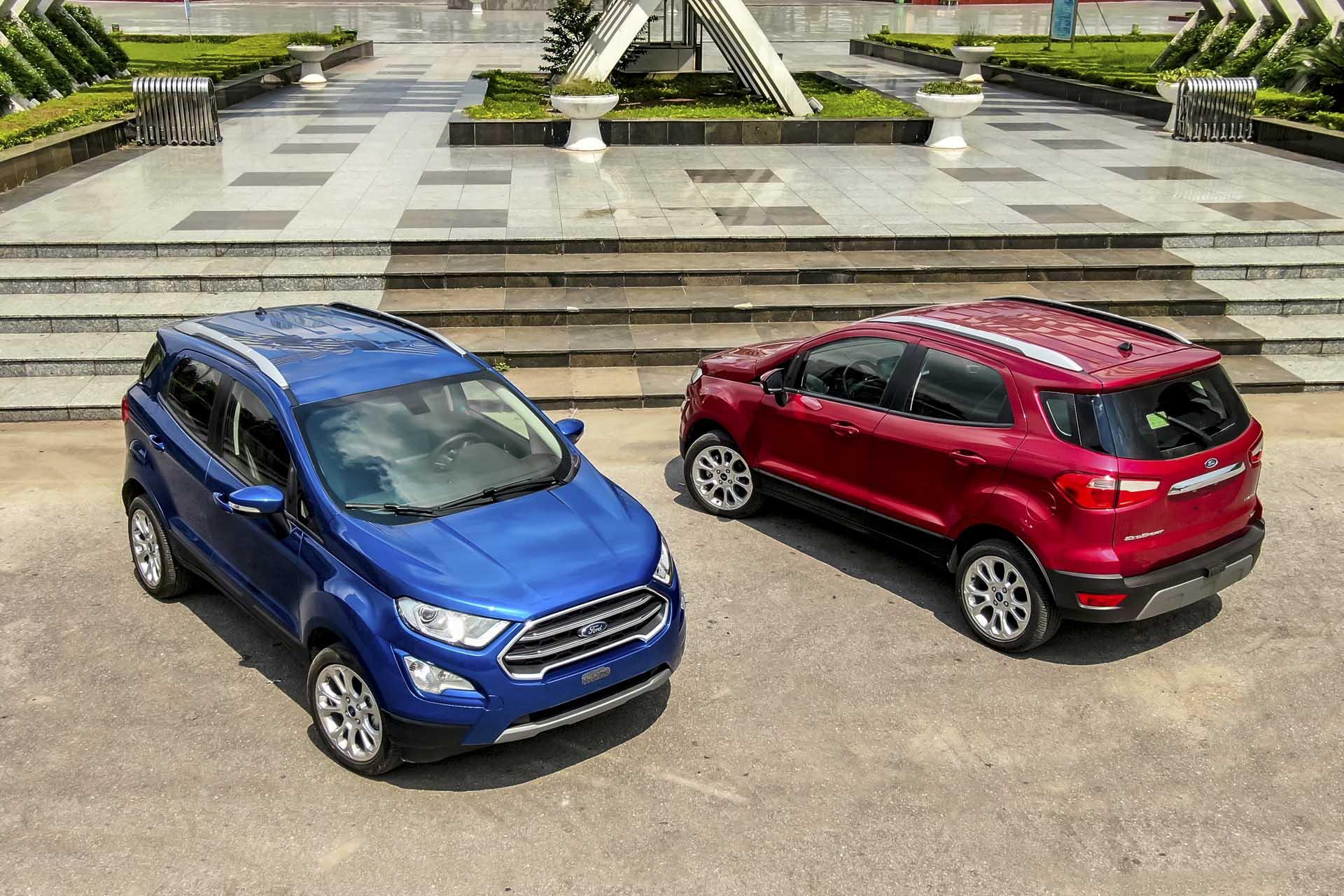 Ford EcoSport chốt giá từ 603 triệu đồng: tinh chỉnh ngoại thất và thêm công nghệ