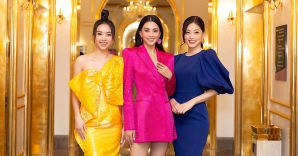 Dàn hoa hậu đọ sắc tại họp báo Hoa hậu Việt Nam 2020