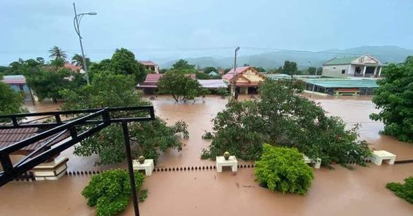 Các tỉnh miền Trung chịu nhiều thiệt hại do mưa lũ
