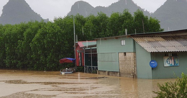 Cảnh báo nguy cơ lũ quét ở Quảng Bình
